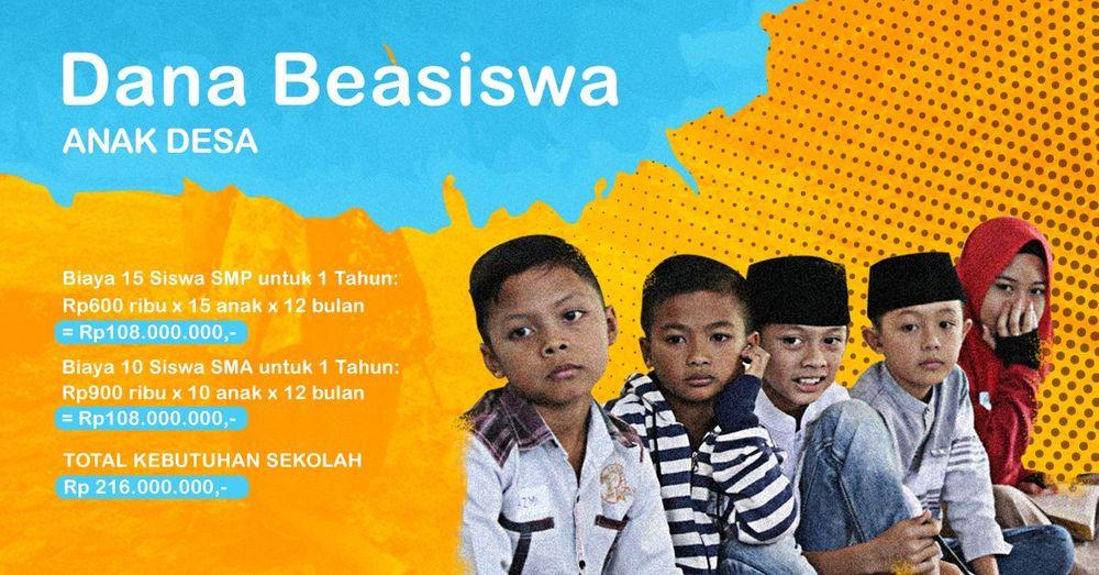1dc537795f45c0 Kitabisa! - BEASISWA Untuk Anak Petani Cimenyan