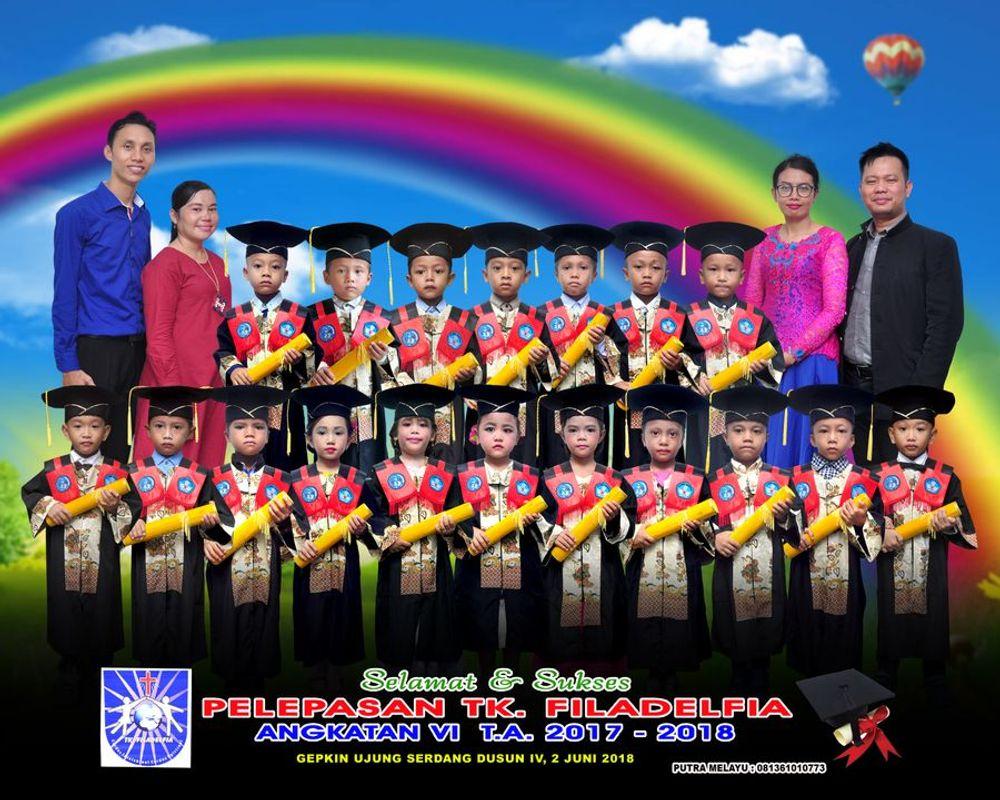 Kebanggaan saya, mampu menghasilkan Murid Berprestasi di tingkat SD., hampir rata-rata Tamatan TK FILADELFIA menguasai Juara di beberapa Sekolah SD.