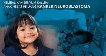 Bantu Kallea Zara lawan Neuroblastoma