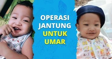Bantu Umar Untuk Operasi Kebocoran Jantung