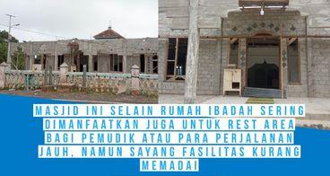 Bantu Doa & Donasi Untuk Renov Masjid Nurul Iman