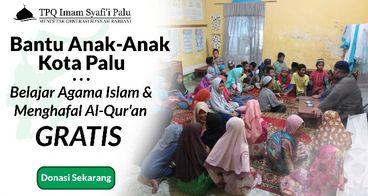 Bantu Anak di Kota Palu Belajar Agama Gratis
