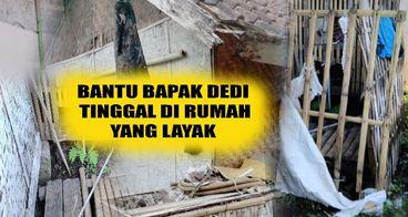 Bantu Bapak Dedi untuk merenovasi rumahnya