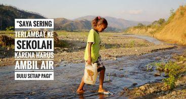 3 Pendaki, 1 Alasan : Demi Air Bersih di NTT
