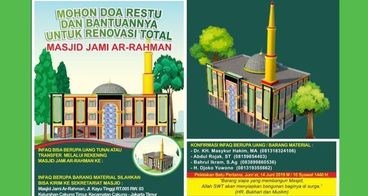 Renovasi Total Masjid Jami' Ar-Rahman Kayu Tinggi