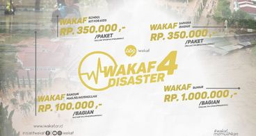 Wakaf for Disaster
