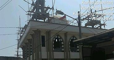 Pembangunan masjid Al-Ikhlas