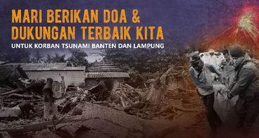 Bersama Bantu Korban Tsunami Banten & Lampung