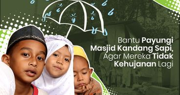 Bantu Renovasi Masjid Bekas Kandang Sapi
