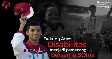 Dukung Atlet Disabilitas bersama SOIna