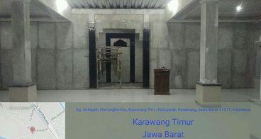 Pembangunan Masjid jamie Al-Barokah