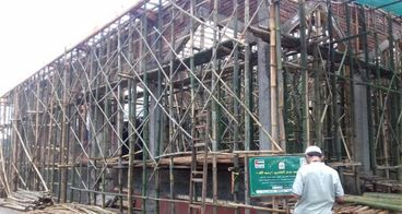 Pembangunan masjid Baitul Muttaqin