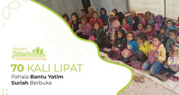 Sedekah Ifthar Untuk 5.000 Yatim Suriah
