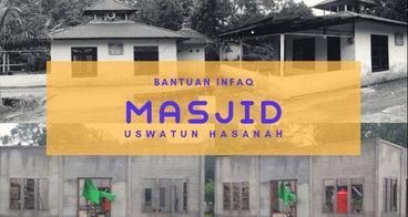 Bantu Desa Wonosari Membangun Masjid