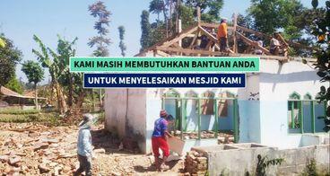(Beramal Jariyah) Renovasi Mesjid AL-HIDAYAH Garut