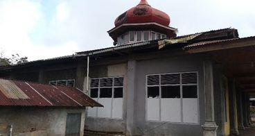 Renofasi masjid TAQWA Mandahiling Kec. Salimpaung