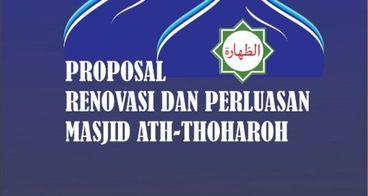 Renovasi dan Perluasan Masjid Ath-Thoharoh