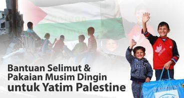 Jaga Senyum Hangat Yatim Palestina