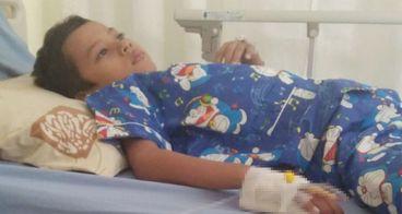 Bantu Adik Alby Lawan Ganasnya Leukemia