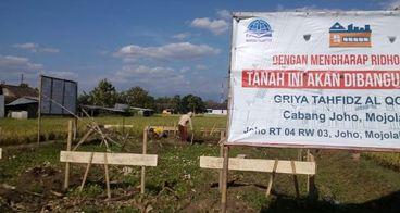 Bantu Pembangunan Griya Tahfidz Yayasan Al Qoyyim