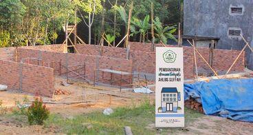 Bantu Asrama untuk Santri Pesantren Ahlus Shuffah