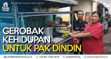 Berdayakan Pak Dindin Dengan Usaha Batagor & Baso