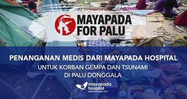 Mayapada Hospital Peduli Bencana Sulawesi Tengah