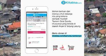 Bantu Korban Tsunami Anyer & Tanjung Lesung