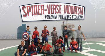 Spider-Verse Indonesia Pahlawan Penjaring Kebaikan