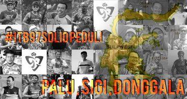 #ITB97SOLID peduli Palu, Sigi, Donggala