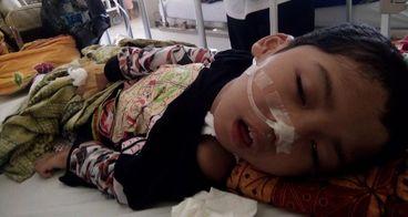 Bantu Reza Berjuang Melawan Meningitis