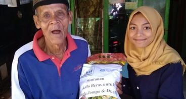 5 Kilo Beras Untuk Janda,Jompo dan Dhuafa