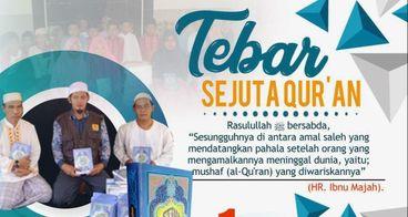 Wakaf 1000 Al-Qur'an, Tebar Manfaat Untuk Umat
