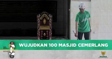 Wujudkan 100 Masjid Cemerlang