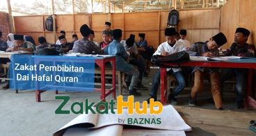 Zakat untuk Dai Dhuafa Penghafal Quran
