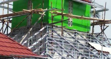 Rampungkan Pembangunan Masjid yang Macet.