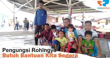 Kita Bisa Selamatkan Pengungsi Rohingya