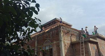 Pembangunan Masjid Baitussyakur Desa Cibangkong