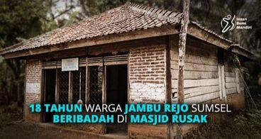 18 Tahun Rusak, Masjid Kasban Perlu Renovasi