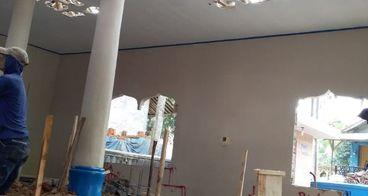 Renovasi Masjid yg mau Roboh