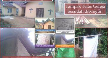 Bersama Membantu Pembangunan Gereja di Pendesaan