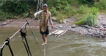 Bantu masyarakat lubuak lunggo punya jembatan