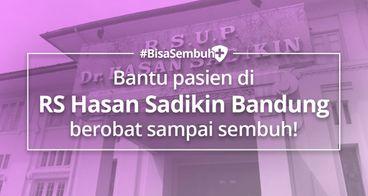#BisaSembuh Untuk RSHS Bandung