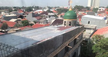 Keikhlasan Membangun Masjid Al-Ikhlas SMA N 65