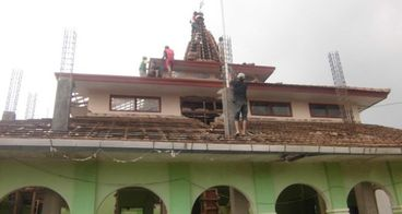 Pembangunan Masjid Baiturrohmah Banyuwangi