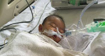 Bantu bayi Ezekiel melawan infeksi sistemik
