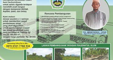 Waqaf tanah untuk Masjid