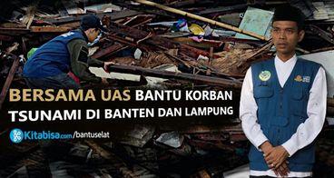 Tolong Korban Tsunami Selat Sunda