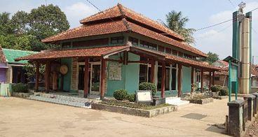 Renovasi masjid jami alfitrah mubarokah