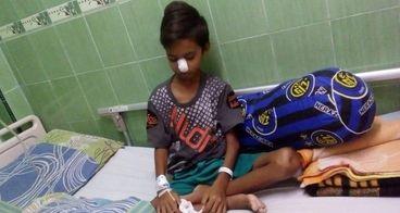 Bantu Ahmad Egi melawan Leukemia Acute